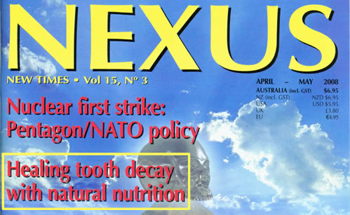Nexus Magazine Cure Tooth Decay